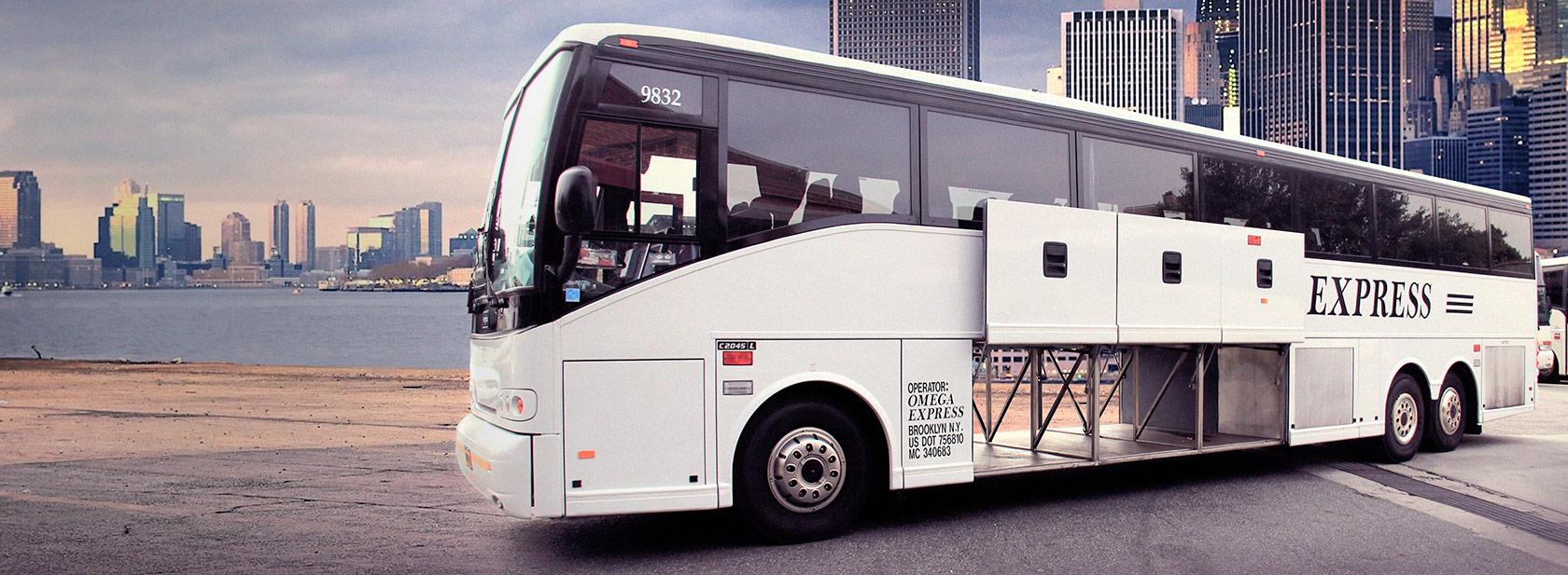 Charter Bus Rental New York, Bus Charter NJ, Brooklyn, Bronx